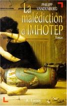 """Couverture du livre : """"La malédiction d'Imhotep"""""""