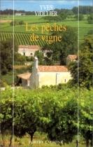 """Couverture du livre : """"Les pêches de vigne"""""""