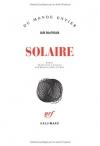"""Couverture du livre : """"Solaire"""""""