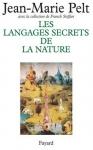 """Couverture du livre : """"Les langages secrets de la nature"""""""