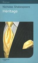 """Couverture du livre : """"Héritage"""""""