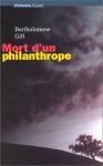 """Couverture du livre : """"Mort d'un philanthrope"""""""