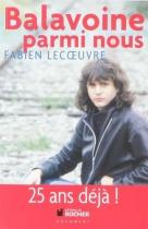 """Couverture du livre : """"Balavoine parmi nous"""""""