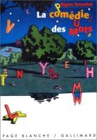 """Couverture du livre : """"La comédie des mots"""""""