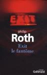 """Couverture du livre : """"Exit le fantôme"""""""
