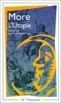 """Couverture du livre : """"L'utopie ou le traité de la meilleure forme de gouvernement"""""""