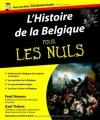 """Couverture du livre : """"L'histoire de la Belgique pour les Nuls"""""""