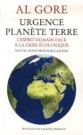 """Couverture du livre : """"Urgence planète terre"""""""
