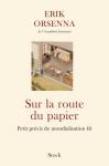 """Couverture du livre : """"Sur la route du papier"""""""