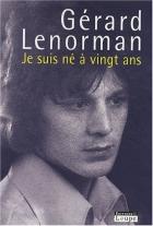 """Couverture du livre : """"Je suis né à vingt ans"""""""