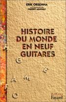 """Couverture du livre : """"Histoire du monde en neuf guitares"""""""