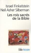 """Couverture du livre : """"Les rois sacrés de la Bible"""""""