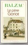 """Couverture du livre : """"Le père Goriot"""""""