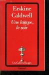 """Couverture du livre : """"Une lampe, le soir"""""""