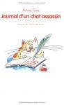 """Couverture du livre : """"Journal d'un chat assassin"""""""