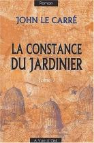 """Couverture du livre : """"La constance du jardinier"""""""