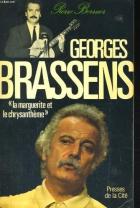 """Couverture du livre : """"Georges Brassens"""""""