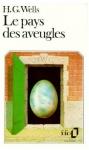 """Couverture du livre : """"Le pays des aveugles"""""""