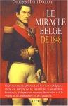 """Couverture du livre : """"Le miracle belge de 1848"""""""