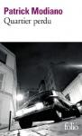 """Couverture du livre : """"Quartier perdu"""""""