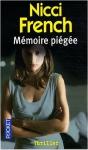 """Couverture du livre : """"Mémoire piégée"""""""