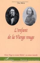 """Couverture du livre : """"L'enfant de la Vierge rouge"""""""