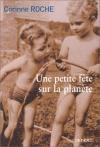 """Couverture du livre : """"Une petite fête sur la planète"""""""