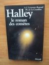 """Couverture du livre : """"Halley, le roman des comètes"""""""