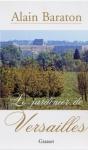 """Couverture du livre : """"Le jardinier de Versailles"""""""