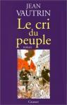 """Couverture du livre : """"Le cri du peuple"""""""