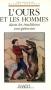 """Couverture du livre : """"L'ours et les hommes dans les traditions européennes"""""""