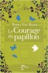 """Couverture du livre : """"Le courage du papillon"""""""