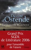 """Couverture du livre : """"Du côté d'Ostende"""""""