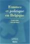 """Couverture du livre : """"Femmes et politique en Belgique"""""""