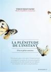 """Couverture du livre : """"La plénitude de l'instant"""""""