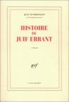 """Couverture du livre : """"Histoire du juif errant"""""""