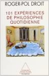 """Couverture du livre : """"101 expériences de philosophie quotidienne"""""""