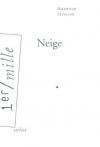 """Couverture du livre : """"Neige"""""""