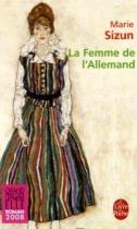 """Couverture du livre : """"La femme de l'Allemand"""""""