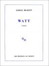 """Couverture du livre : """"Watt"""""""