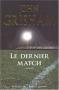 """Couverture du livre : """"Le dernier match"""""""