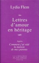 """Couverture du livre : """"Lettres d'amour en héritage"""""""
