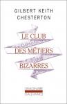 """Couverture du livre : """"Le club des métiers bizarres"""""""