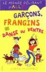 """Couverture du livre : """"Garçons, frangins et danses du ventre"""""""
