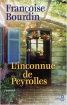 """Couverture du livre : """"L'inconnue de Peyrolles"""""""