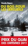 """Couverture du livre : """"Du bois pour les cercueils"""""""