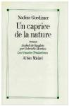 """Couverture du livre : """"Un caprice de la nature"""""""