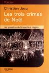 """Couverture du livre : """"Les trois crimes de Noël"""""""