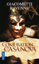 """Couverture du livre : """"Conjuration Casanova"""""""