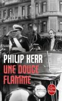 """Couverture du livre : """"Une douce flamme"""""""